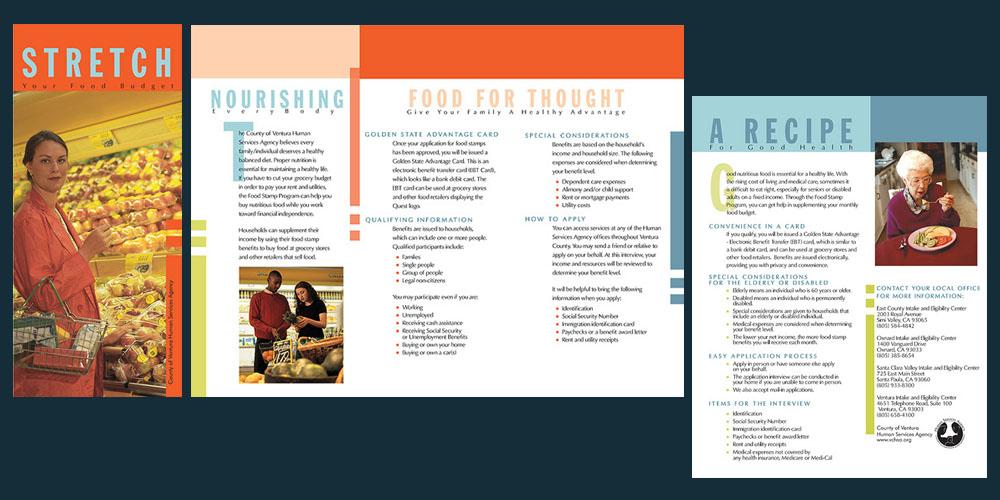 Health Services Nutrition brochure