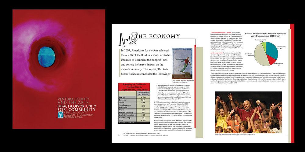 Ventura County & The Arts brochure
