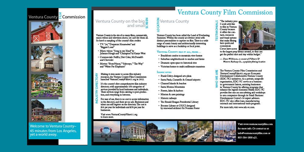 Ventura Film Commission brochure