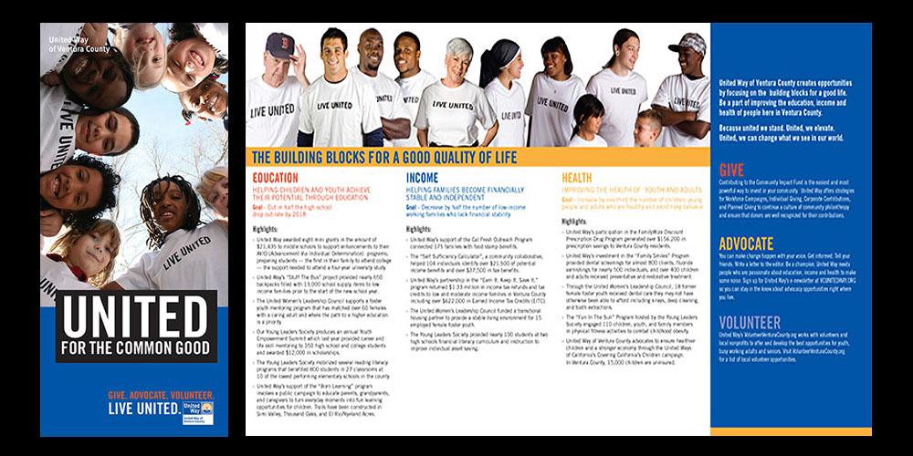 United Way brochure